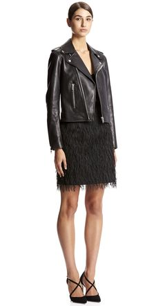 FEATHER WEAVE SHIFT SKIRT - Skirts | SCANLAN THEODORE