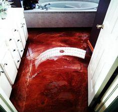 Home - DIY Countertop, bar top, and flooring epoxy. Epoxy Resin Flooring, 3d Flooring, Epoxy Resin Table, Garage Flooring, Diy Epoxy, Flooring Ideas, Refinish Countertops, Epoxy Countertop, Bathroom Concrete Floor