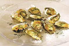 """Casanova once said oysters are """"a spur to the spirits and to love"""" - which is why you'll swoon when you taste this decadent starter."""