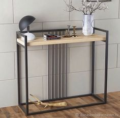 Give Your Rooms Some Spark With These Easy Vintage Industrial Furniture and Design Tips Do you love vintage industrial design and wish that you could turn your home-decorating visions into gorgeous reality? Welded Furniture, Industrial Design Furniture, Loft Furniture, Iron Furniture, Industrial Interiors, Steel Furniture, Home Decor Furniture, Furniture Projects, Vintage Furniture