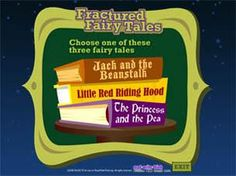 Read Write Think fractured fairy tales