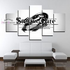 Steins Gate Canvas Print , Logo Design | 1 to 5 Pieces  #canvas #design #Gate #Logo #pieces #print #steins Canvas Art Prints, Canvas Canvas, Canvas Designs, Print Logo, Gate Logo, Painting Logo, Framed Wall, Wall Art, Logo Design