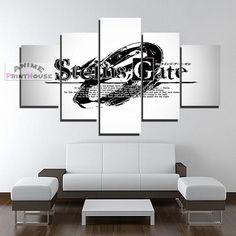 Steins Gate Canvas Print , Logo Design | 1 to 5 Pieces  #canvas #design #Gate #Logo #pieces #print #steins Canvas Art Prints, Canvas Canvas, Canvas Designs, Print Logo, Gate Logo, Painting Logo, Framed Wall, Wall Art, Logo Design