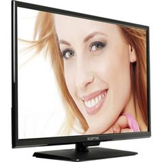 "SCEPTRE X405BV-FHDR 40"" LED Class 1080P HDTV with ultra slim metal brush bezel, 60Hz"