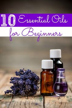 Essential Oils are a great way to cut chemicals from your life for better health, home and family! If you're unsure how to get started, these 10 essential oils for beginners are great!