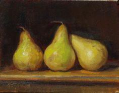 Peter Yesis (b.1955) — Three Pears, 2008  (700x554)