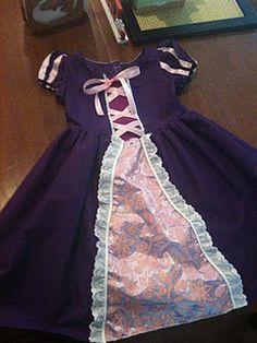 Hand Made Tangled Dress