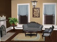 Luxury Brown Living Room Color Schemes