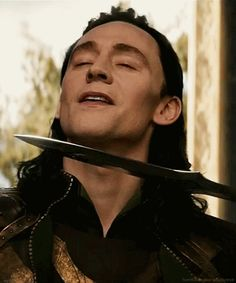 Theres a bunch of Loki GIFs if you click on it. :3