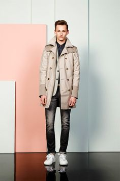 Seems like Cacharel is revamping its tarnished image, igniting some fresh blood on its second menswear collection ever. The Spring/Summer 2014 collection of the classic french house is mainly. Masculine Style, Mode Masculine, Summer 2014, Spring Summer, 21 Men, Good Attitude, Cool Style, My Style, Mens Fashion