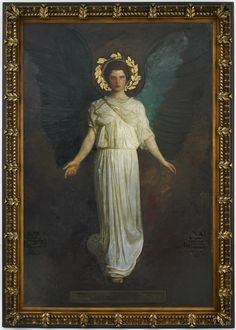 A Winged Figure Abbott Handerson Thayer, 1849-1921 Oil on canvas Freer Gallery