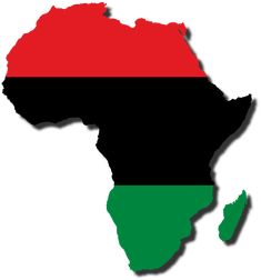 A flag-map of the ' cradle of humanity' with the Pan-African flag. Description from captainvoda.deviantart.com. I searched for this on bing.com/images