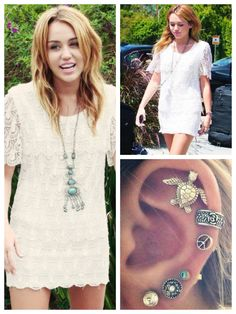 Go boho like Miley Cyrus