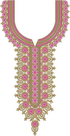 Ideas Clothes Patterns For Men Bead Necklaces Embroidery Neck Designs, Embroidery Suits Design, Machine Embroidery Patterns, Kurta Designs Women, Kurti Neck Designs, Casual Dresses For Teens, Trendy Clothes For Women, Embroidery On Clothes, Mother's Day Diy