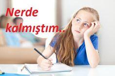 Çocuğum derslerine dikkatini vermiyor ne yapabilirim?
