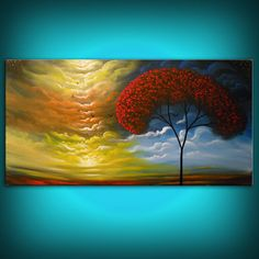 art painting abstract landscape painting surreal by mattsart