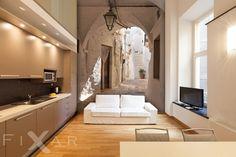 . Living Room, Interior Design, Bed, Furniture, Home Decor, Drawing Rooms, Nest Design, Home Interior Design, Stream Bed