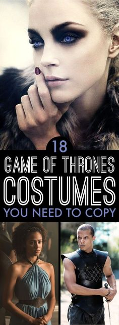 18 Game of Thrones Costumes You Need To Copy These game of thrones costumes need to be worn this halloween Game Of Thrones Food, Game Of Thrones Outfits, Game Of Thrones Decor, Game Of Thrones Dress, Game Of Thrones Cosplay, Game Of Thrones Party, Halloween Costume Game, Game Of Thrones Halloween, Game Of Thrones Birthday
