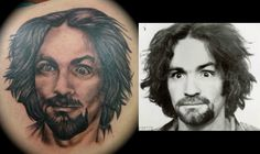Manson tattoo meaning charles What the