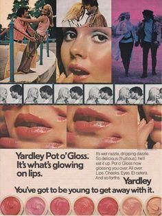 1970s Yardley's Pot o' Gloss