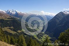 #View From #Grossglockner #High #Alpine #Road #Down Into The #Valley @dreamstime #dreamstime #nature #landscape #travel #holidays #mountains #alps #outdoor #hiking #season #vacation #sightseeing #leisure #panorama #bluesky #summer #autumn #fall #trees #wonderful #colorful #beautiful #stock #photo #portfolio #download #hires #royaltyfree