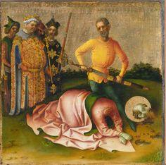 Martyrdom of Saint Paul / Martirio de San Pablo // after 1435 // Stefan Lochner // © Städel Museum