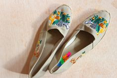 Toms style Deacon USA khaki espadrille size 10 by Thriftionary,