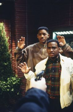 Still of Will Smith and Alfonso Ribeiro in The Fresh Prince of Bel-Air (1990)