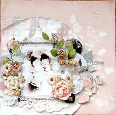 Love - Scrapbook.com Prima - Rondelle Collection