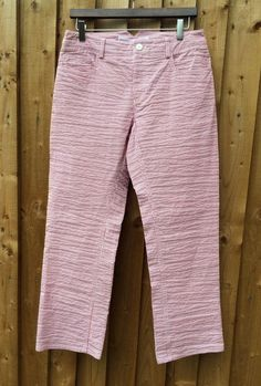 Cabbages And Roses Red/White Striped Trousers UK: 10 EU EU: 38 US: 6 *BNWOT*