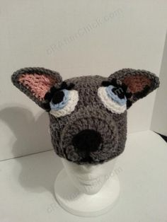 Mother Wolf Beanie Hat Crochet Pattern : cRAfterChick - Free Crochet Patterns and Projects
