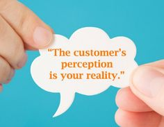The customers perception is your reality. via @assistsocialmedia Do your members or clients know everything you do?  How do you educate them about everything that happens behind the scenes without boring them? After all, they are looking to you to make things easier. This is a case where you need to SHOW not tell.