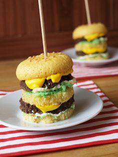 Big Mac Cupcakes!