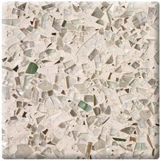 Vetrazzo recycled glass countertop in  Cubist Clear