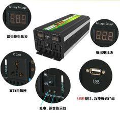 NO TAX 5000W WATT LF PURE SINE WAVE POWER INVERTER DC24V TO AC220V,230V,240V CONVERTER,UPS