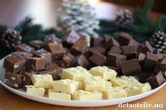 Annonse: Nestlé Hei! Det er tid for å lage hjemmelaget konfekt til jul. Hjemme hos meg er det i hvert fall utrolig populært hvis jeg setter frem et fat med noen forskjellige sorter hjemmelaget konfekt i julen! Mange tror det er vanskelig å lage hjemmelaget konfekt, og i hvert fall å lage noe slikt som sjokoladefudge… Men neida, hjemmelaget sjokoladefudge er faktisk noe av det aller letteste man kan lage! Det eneste man trenger er søt, kondensert melk og sjokolade – og alle varianter av…
