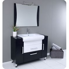 a great modern vanity for any bathroom