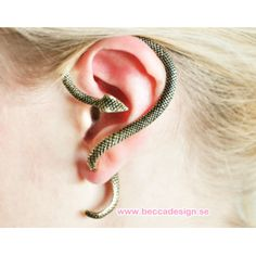 A really cool earring!