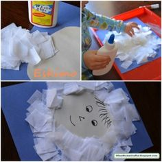 Eskimo & Igloos Crafts, Activities, & Ideas for Kids Snow Theme, Winter Theme, Preschool Crafts, Crafts For Kids, Daycare Crafts, Igloo Craft, Eskimo, January Crafts, Winter Art Projects
