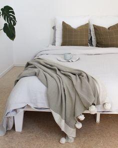 Light soft grey bedroom ideas, Luxury soft European bed Linen Soft Grey Bedroom, Linen Bedroom, Linen Duvet, Grey Duvet, Bed Linen Online, Linen Sheets, Beautiful Bedrooms, Duvet Cover Sets, Luxury Bedding