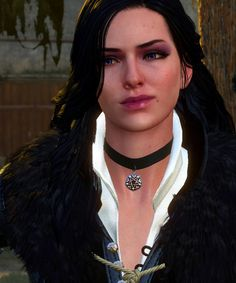 f Rogue Thief Leather Armor Necklace portrait Yenna med Witcher 3 Yennefer, Witcher 3 Art, Yennefer Cosplay, Yennefer Of Vengerberg, Geralt Of Rivia, The Witcher Wild Hunt, The Witcher Game, The Witcher Books, Pillars Of Eternity