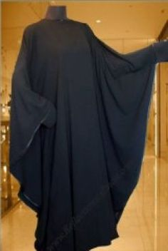 Make one at home :) Butterfly/Shoulder Abaya Niqab Fashion, Vogue Fashion, Fashion Killa, Fashion 2020, Islamic Fashion, Muslim Fashion, Modest Fashion, Fashion Clothes, Womens Fashion Online