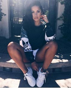 """http://www.latestclothingtrends.com/category/adidas-shoes/ Bombshell Beauties on Instagram: """"@_stephanierao """""""