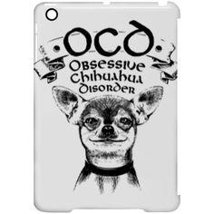 Limited Edition – OCD Obsessive Chihuahua Disorder iPad Mini Clip Case