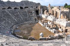 The Theatre at Side (modern Eski Antalya, Turkey)
