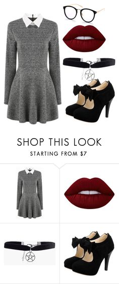 """outfit"" by hjeanb on Polyvore featuring Lime Crime and Boohoo"