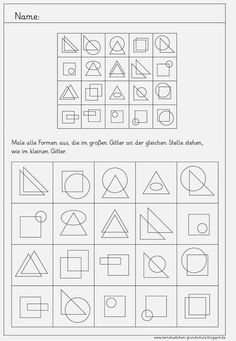 Lernstübchen: GEO visuelle Wahrnehmung
