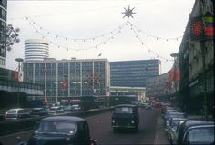 Smallbrook Ringway with Christmas Lights. Birmingham City Centre, World Famous, Christmas Lights, Nostalgia, Fair Grounds, Street View, Journey, Memories, January