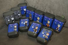 Dr. Who geocache series I recently found one of these.  They're hidden all over the country