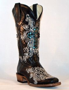 **PRE-ORDER ONLY** Dusty Rocker Dally Square Toe Boots-Wear Us Out Boutique Conroe/Montgomery Texas